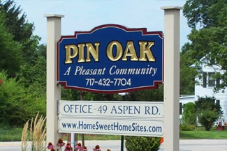 Pin Oak - Home Sweet Homesites Dillsburg, PA manufactured housing community located in York County near York