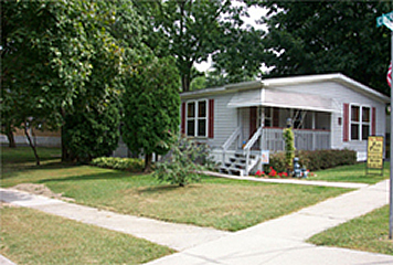 Beautiful modular home on lot in Dillsburg, PA ... Pin Oak manufactured housing community features sidewalks